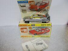 dinky 108 sams car jo 90 vintage boxed 1969