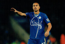 Gokhan INLER Leicester City SWISS Signed Autograph 12x8 Photo AFTAL COA