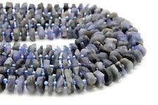 Natural Tanzanite Raw Chips Nuggets Rough Cut Irregular Shape Gemstone Beads