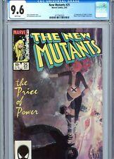 New Mutants #25 CGC 9.6 White Pages 1st Legion Marvel Comics 1985