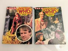 Dr Who Annuals 1982 & 1983 Lot