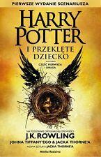 Harry Potter i Przeklete Dziecko. Czesc pierwsza i druga, polish book