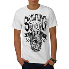 Wellcoda Scouting For Kill Mens T-shirt, Scout Graphic Design Printed Tee