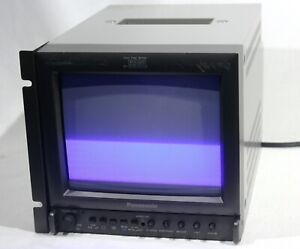 "Panasonic BT-S901Y 9"" Professional Color Video Monitor - BNC, S video, Audio, SD"