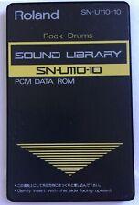 Roland SN-U110-10 PCM Data ROM Sound Library Card U-110 or U-20 - Rock Drums