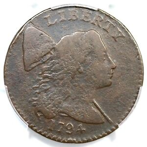 1794 S-31 PCGS VG Details Head of 94 Liberty Cap Large Cent Coin 1c