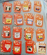 COMPLETE MINT SET 1991 AFL FOOTBALL CARDS - 168 CARDS