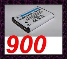 "★★★ ""900mA"" BATTERIE Lithium ion ★ Pour Pentax Optio V10"
