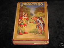 Pinocchio - Saalfield Publishing Co. 1924 with DJ