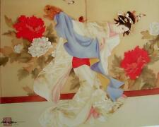 "Caroline Young ""Fu Dog Dancer"" Giclee Edition 15/100"