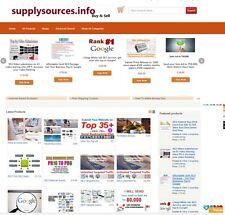 Multi Vendor Marketplace Website For Sale Dropship Free 1Y Hosting 5Yrs Domain