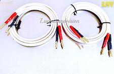 Nouveau QED Reference Audio XT-40 Haut-Parleur Câbles 2 x 3 m (une paire) A mis fin