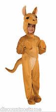 KID'S PLUSH DELUXE KANGAROO HALLOWEEN COSTUME UNISEX CHILD SIZE 4-6