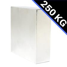 Neodym Magnet Quader 60x60x20mm N52 extrem 250 KG stark Platte Power Block NdFeB