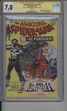 Amazing Spider-Man 129 CGC 7.0 - Lions Gate Signed by Stan Lee & John Romita