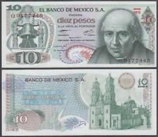 Banco De Mexico, 10 Pesos, 1977, UNC, P-63(i)