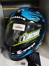 Icon Berserk Blue Full Face Helmet Medium