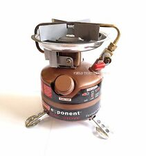 SINGLE BURNER STOVE - Coleman Exponent 442 - Dual Fuel Stove - Camping - (12607)