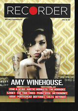 Hungarian Magazine Recorder - 001 - Amy Winehouse cover - 1st Issue