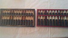 Pair of vintage abacus