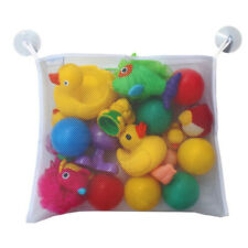 Baby Bath Time Toy Tidy Storage Hanging Bag Mesh Bathroom Organiser Net Kids
