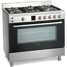 Montpellier MR90GOX 90cm Single Cavity Gas Range Cooker in Stainless Steel