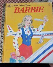Vintage Barbie Little Golden Book 1974