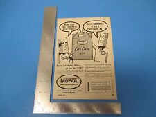 1957 Print Ad, MoPar Parts & Accessories, Car Care Kit, Chrysler Corp Detroit MI
