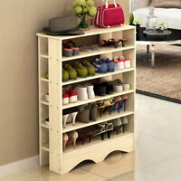 5 Tie Shoe Rack Shoe Storage Shelves Free Stand