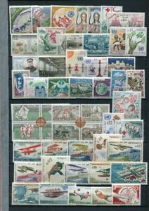 MONACO Middle Period MNH COLLECTION 175 Stamps