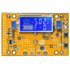 DC 10A Adjustable Buck Power Supply Module Voltage Ammeter LCD Screen Winners