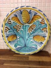ENGLISH DELFT BLUE DASH TULIP CHARGER 1680 FAIENCE DELFTWARE MAIOLICA 17TH C XVI