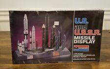 MONOGRAM RARE - US & USSR MISSILE DISPLAY 1/144  MODEL KIT U.S. & U.S.S.R. NEW