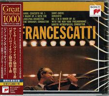 ZINO FRANCESCATTI-PAGANINI CONCERTO NO1 IN D MAJOR OP6T-SAENS-JAPAN CD B63
