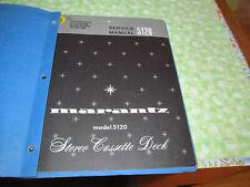 Marantz 5120 Factory Service Manual (Original, Paper)