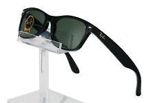 Ray-Ban RB2132 New Wayfarer Sunglasses 55mm - Black Frame Green Lenses