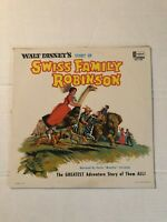 Walt Disney Swiss Family Robinson childrens lp vinyl record NM! vtg 1963 DQ-1280