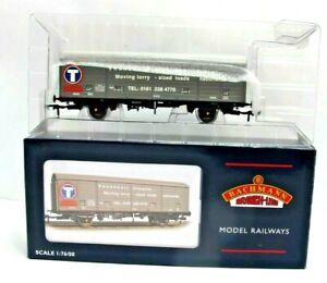Bachmann 38-140K 29 Ton Box Van VDA Transrail Promotional Liver - Boxed - (1017)