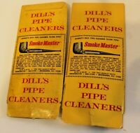 2 Packs of Dills Pipe Cleaner Advertising Vintage USA Collectible Smoke Vtg sets