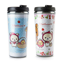 Cute Rilakkuma Stainless Steel Insulated Tumbler Cup Travel Mug Keep Warm & Cool