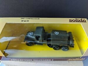 Solido GMC Compresseur No. 6001 1:50 Scale