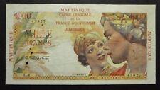Martinique - 1000 Francs Union Française - 1947-1949