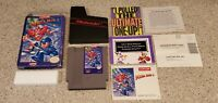 Mega Man 5 megaman five V - Nintendo NES lot Box Poster Manual Book Complete CIB