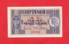 1 Pengö von 1938, in *XF* Erhaltung!