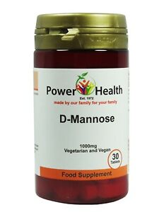 Power Health 30 Caps D-Mannose 1000g - Reduced to Clear