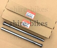 NEW Genuine Honda Fork Stanchions (Pair) for Honda QR50 QR 50 (51410-GF8-003)