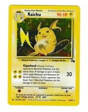 Fossil Raichu 14/62 Holo Rare Unlimited Edition Pokemon MC Never Played