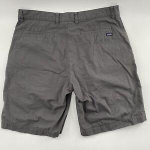 Patagonia Men's Organic Cotton Shorts Sz 34 Gray