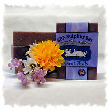 Midnight Romance _Great Falls_ SPA Sulphur Soaps Made in Montana_Handmade