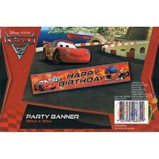 Disney Cars 2 Party Banner Decoration